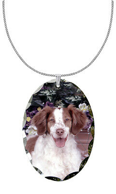Brittany Spaniel Pendant / Necklace
