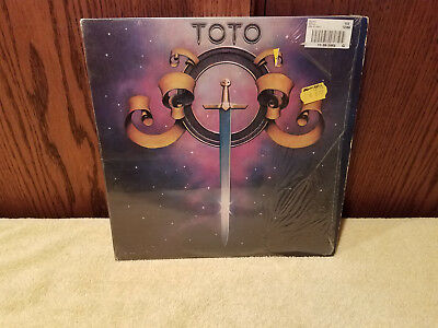 Toto  - Self Titled - Columbia JC35317 1978 - Shrink VG+ - Vinyl LP