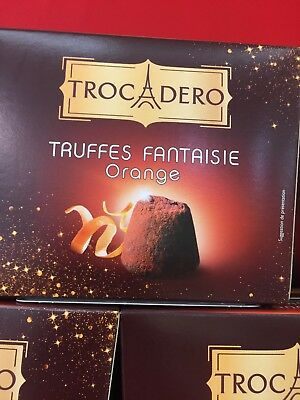 lot revendeur-palette/déstockage - De 4 Boites De Truffe Fantaisie Orange