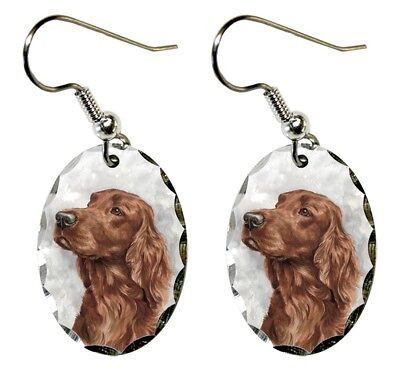 Irish Setter Earrings