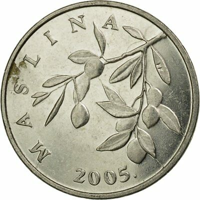 [#670730] Münze, Kroatien, 20 Lipa, 2005, SS, Nickel plated steel, KM:7