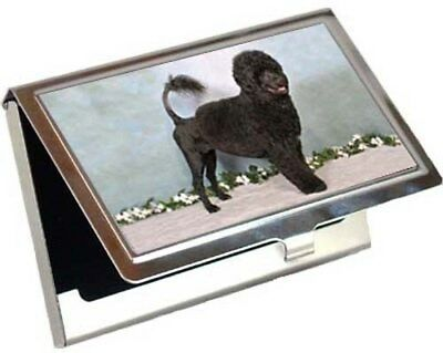 Portuguese Water Dog Business Card / Credit Card Case