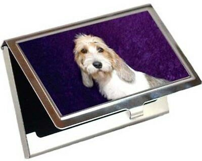 Petit Basset Griffon Vendeen Business Card / Credit Card Case