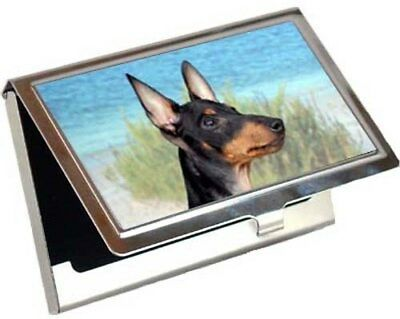 Manchester Terrier Business Card / Credit Card Case