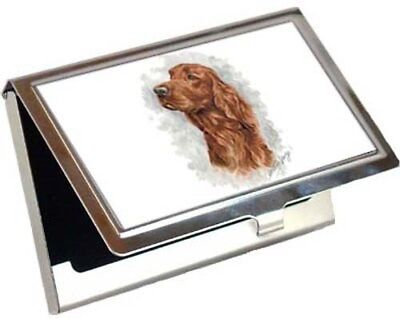 Irish Setter Business Card / Credit Card Case