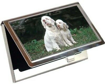 Clumber Spaniel Business Card / Credit Card Case