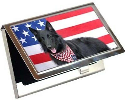 Belgian Sheepdog Business Card / Credit Card Case