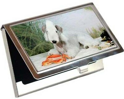 Bedlington Terrier Business Card / Credit Card Case