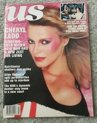 CHERYL LADD Charlie's Angels Us Magazine STAR WARS Carrie Fisher BUCK ROGERS +++