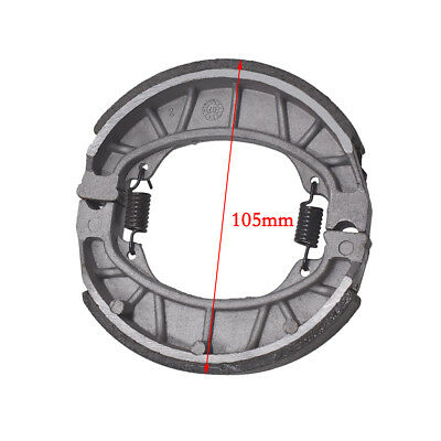 105 mm Brake Drum Shoe Set with Springs For 49cc 50cc Moped Scooter Taotao
