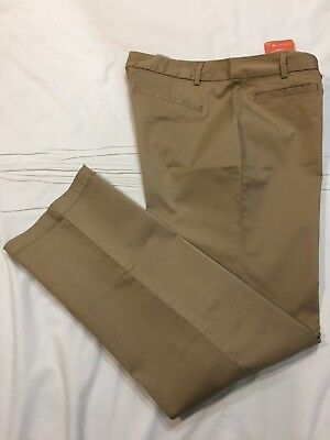 Dockers Women/'s Soft Khaki Stretch Pants Beige or Blue Petite SIZES NWT