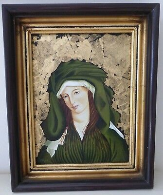 Oil Painting on Board Framed and Signed by Unknown Artist