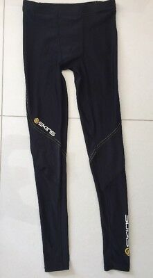 Youths Skins Compression Tights Black Size L (please See My Measurements).