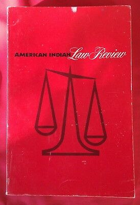 (Native) American Indian Law Review Vol V Number.1- U Of Oklahoma:  Book