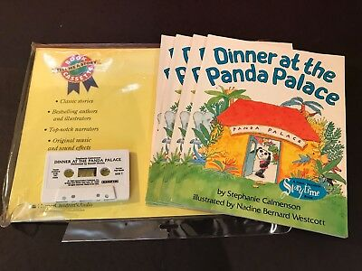 Dinner At The Panda Place With Audio Cassette Bundle (Comes With 4 Books)