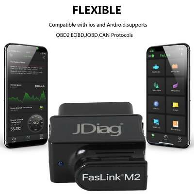 JDiag Faslink M2 BlueDriver Professional OBDII Scan Tool Android iOS Code Reader
