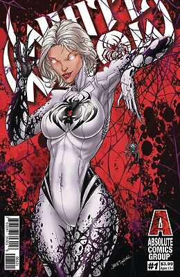 White Widow 1 Red Foil Variant Giant Entertainmens Jamie Tyndall Pre-Sale 11/28