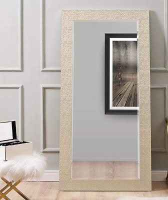 Large Full Length Floor Mirror Leaning Wall Lounge Standing Mosaic Ornate Frame