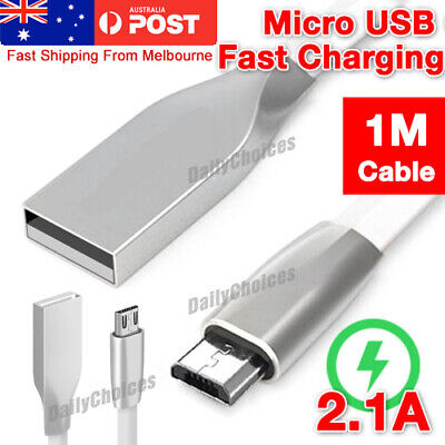 1M Micro USB Charger Cable for PLAYSTATION PS4 Dualshock 4 Wireless Controller