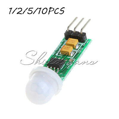 1/2/5/10x HC-SR505 Mini Infrared PIR Motion Sensor Infrared Detector Module