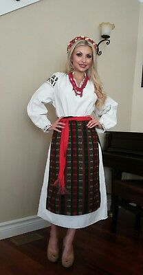 Ukrainian   Traditional  Costume Karpatian   Region .