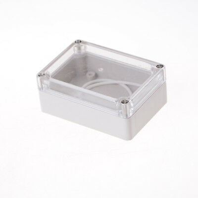 85x58x33 Waterproof Clear Cover Electronic Cable Project Box Enclosure Case UK