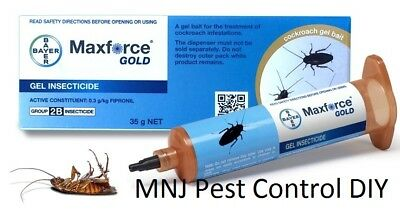 1x Maxforce Gold Gel Cockroach, German Cockroach Fipronil Commercial Grade
