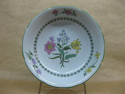 """Spode Summer Palace Bowl ~ 16 cm ~ 6 1/4"""" ~ Fine Stone England ~ Green Band"""