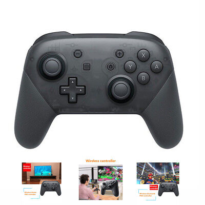 1xWireless Bluetooth Pro Controller Gamepad + Charging Cable for Nintendo Switch