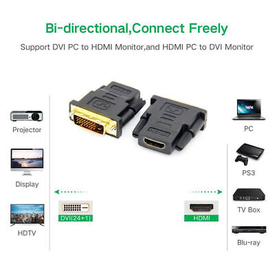 how to connect hdmi pc to dvi monitor