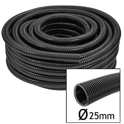 // 25mm O.D 20mm I.D EXTENSION HOSE w Corrugated Bore WATER BUTTS  1-10 Meter