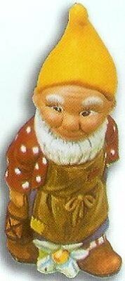 MOULD ONLY Supercast 18cm Gnome with Lantern reusable latex mould