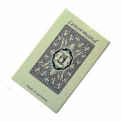 Blue Owl Fortune Telling Tarot by Mlle Lenormand, 36 Cards Deck with English Ins