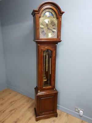 "Grandmother Clock ""The Windsor Oak (C1854TCH)"" by Comitti of London"