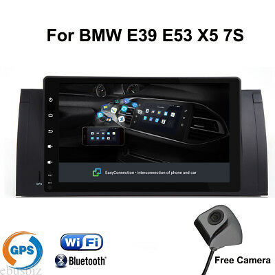 For BMW E39 E53 X5 Android 8.1 Stereo HD Touch Radio GPS Navigation Bluetooth 4G