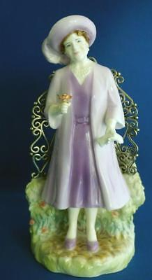 Royal Worcester Figurine Queen Mother Limited Edition Royal Commemorative