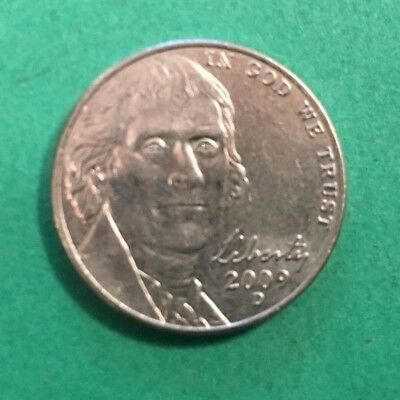 2009 D Jefferson Nickel G-VG Circulated Cond Very Low Mintage