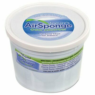 Nature's Air Odor-Absorbing Replacement Sponge, Neutral, 64 oz Tub (DEL1013EA)