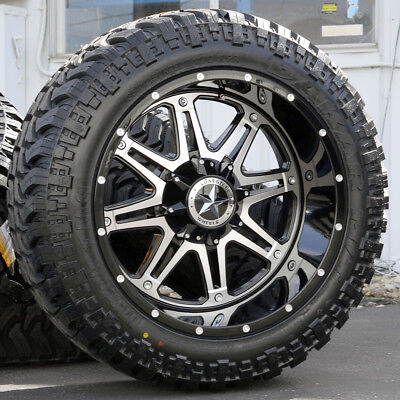 22 Inch Tires >> 22 Black Lonestar Outlaw Wheels 35 Tires 8x6 5 22 Inch