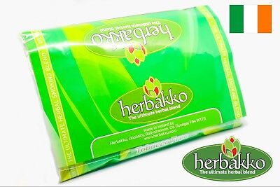 Herbakko Herbal Smoking Mixture 50g, A 100% Nikotine&Tobaco Free Smoking Blend