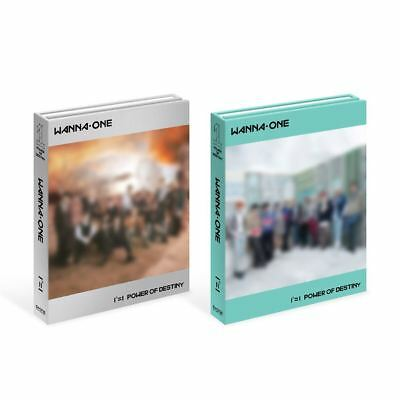 WANNA ONE 1¹¹=1 POWER OF DESTINY 2SET Ver  CD+Booklet+Card+etc+Tracking Number