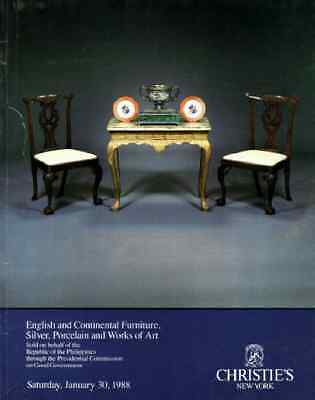Christie's English & Con Furniture The Republic Of The Philippines Collection