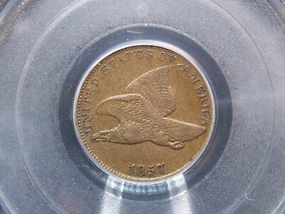 1857 Flying Eagle Cent 1c PCGS XF40    East Coast Coin & Collectables, Inc.