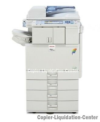 Ricoh MPC2551 MPC 2551 Color Copier Scan Printer. Speed 25 ppm 'ct