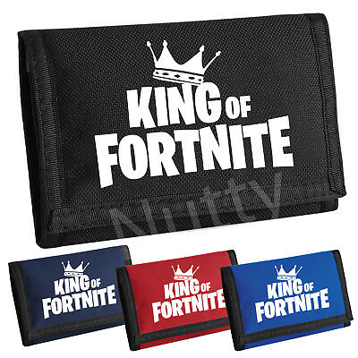 Kids Victory Royale Money Wallet  Fornite King Of