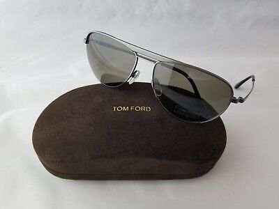 ea9497cde8b Tom Ford William Tf207 09J Dark Ruthenium James Bond 007 Skyfall Sunglass  Italy