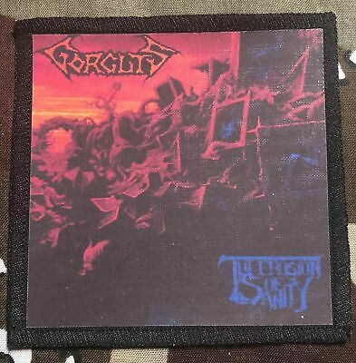 Gorguts Erosion Of Sanity Printed Patch G030P Death Bolt Thrower Suffocation