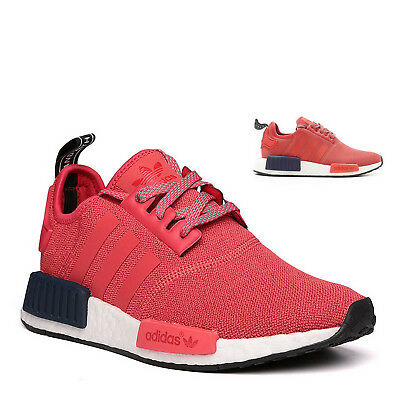 c6336077685df ADIDAS NMD R1 W S76013 Womens Vivid Red Reflective Ultra Boost ...