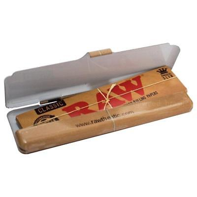 RAW Classic Tin Accessory King Size Slim Papers NEW Authentic Travel Size Metal