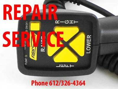 REPAIR SERVICE FOR Fish Stick Fisher Western plow 6 Pin controller